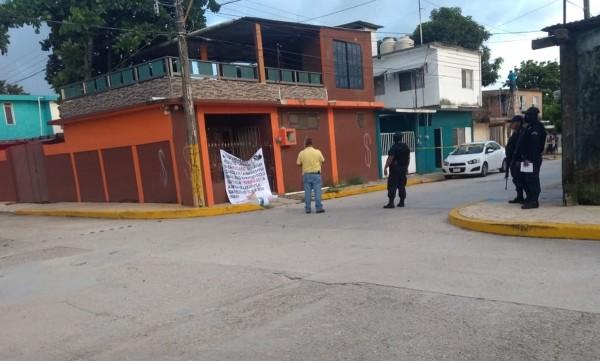 Comando armado rafagueó una vivienda en Ixhuatlán