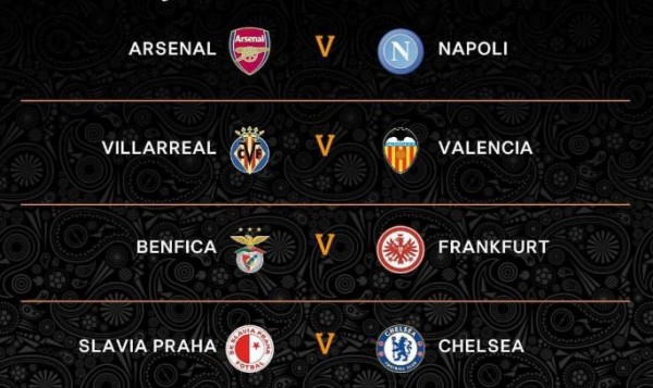 La Europa League define sus cuartos de final