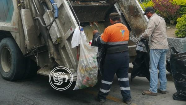 Hasta 80 toneladas diarias de basura se recogen en Tuxpan