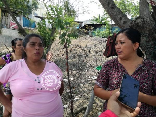 Claman en Poza Rica por apoyos para viviendas