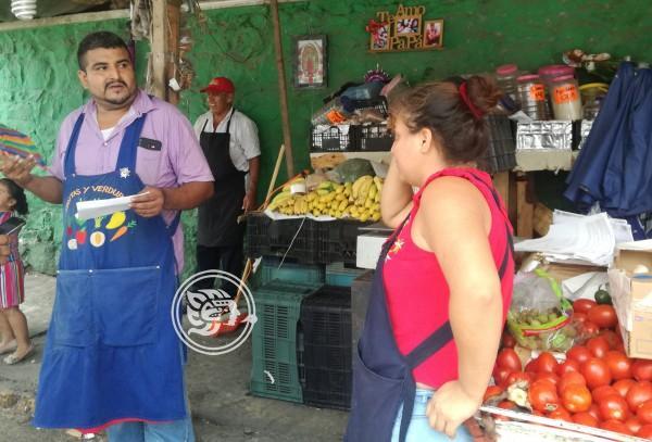 Molestia entre comerciantes por desalojos en Poza Rica