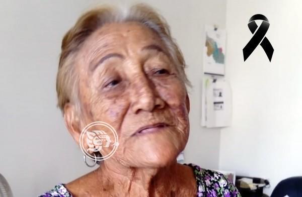 Fallece Chonita, histórica trabajadora del Ayuntamiento de Coatzacoalcos