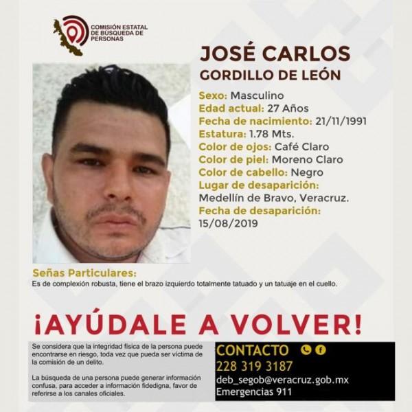 Piden ayuda para localizar a desaparecido en Medellín