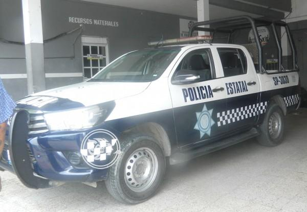 Refuerza SSP vigilancia en Nanchital, cede dos unidades a la policía municipal