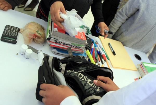 Escuelas en Veracruz también han registrado ingreso de armas