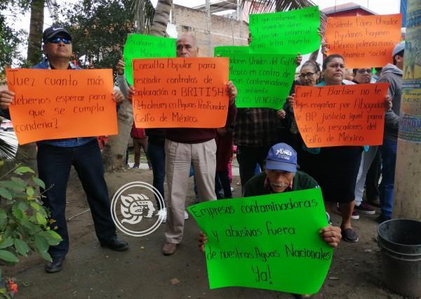 Problemas entre pescadores afectarían juicio contra BP
