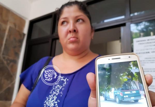 Fuerza Civil desaparece a acayuqueño, denuncia su esposa