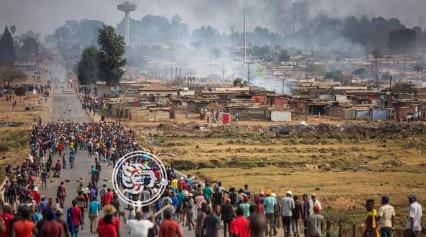 La violencia xenófoba enfrenta a los gigantes de África
