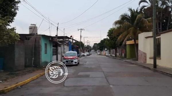 Movilización policíaca en Minatitlán, causa temor entre vecinos