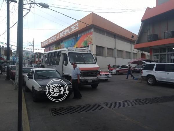 Colonia de Nanchital volverá a contar con servicio de transporte