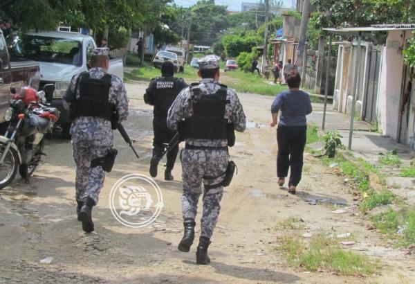 Ejército ubica una presunta casa de seguridad en Minatitlán
