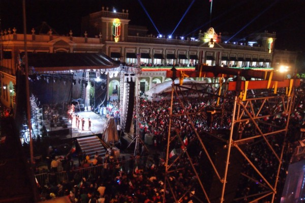 Desde sábado, Centro de Xalapa cerrado por ceremonia del Grito