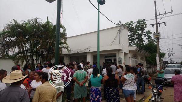 CFE omite quejas de Resistencia Civil en Las Choapas