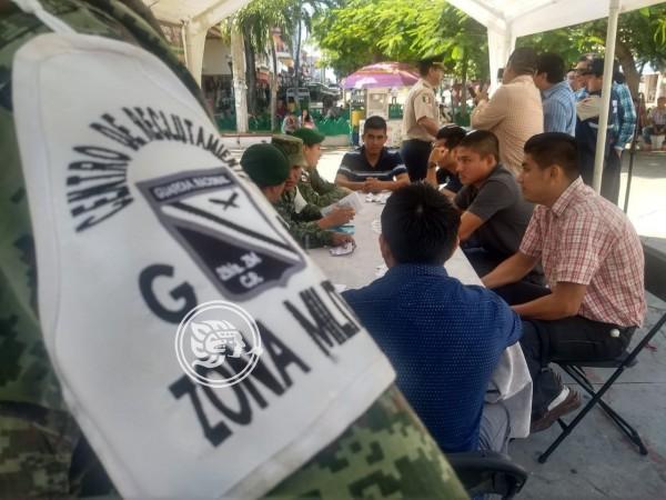 Aún Hay 200 Vacantes Para La Guardia Nacional En Minatitlán