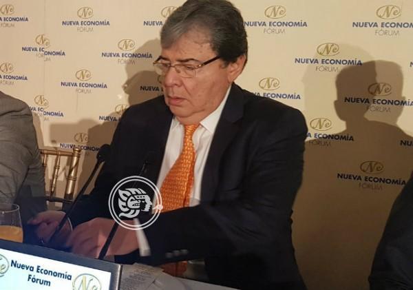 Canciller colombiano pide más ayuda internacional ante la crisis venezolana