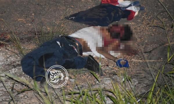 Matan a desconocido a machetazos en Acayucan