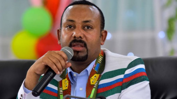 Abiy Ahmed, primer ministro de Etiopía, Premio Nobel de la Paz 2019