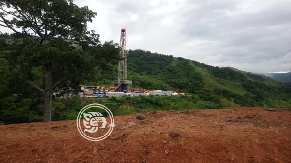 Comienzan producción del pozo petrolero de Las Choapas