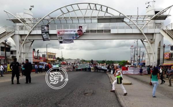 Grupos indígenas protestan por altas tarifas en energía eléctrica