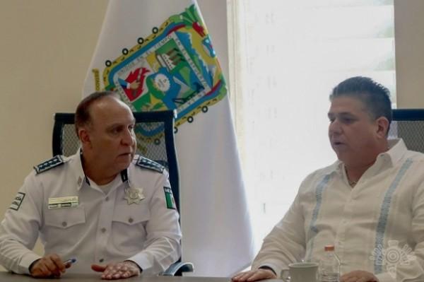Veracruz y Puebla delinean estrategias contra el crimen