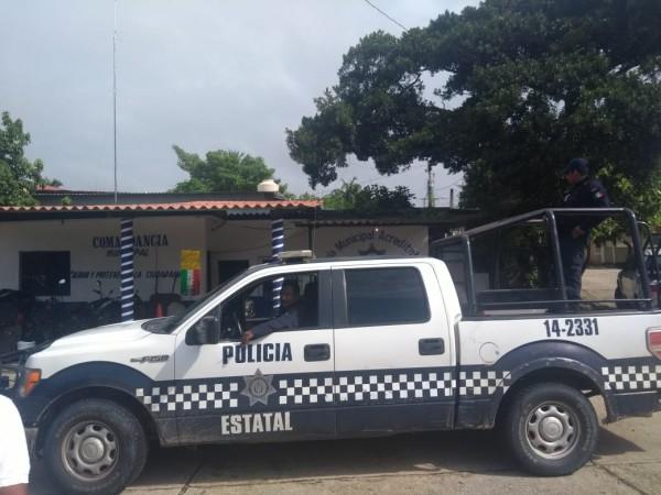 SSP toma instalaciones de la Policía Municipal en Ixhuatlán