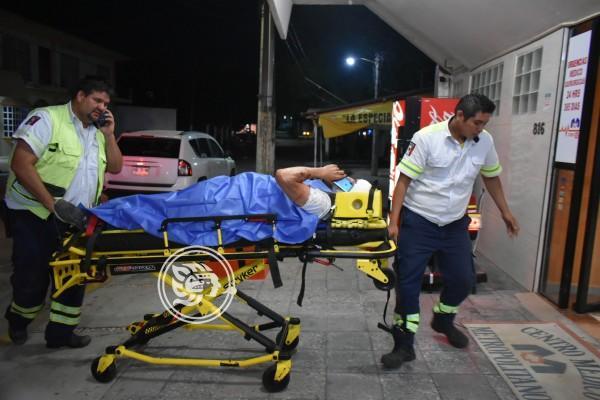 Pareja de San Luis sufre accidente en autopista Cosolea-La Tinaja