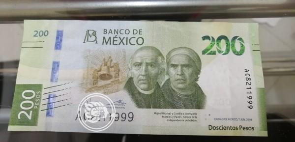 Advierten sobre supuestos billetes falsos en Las Choapas