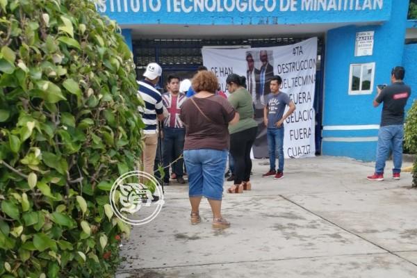 Ven conflicto político detrás de movimiento en el Tec de Minatitlán