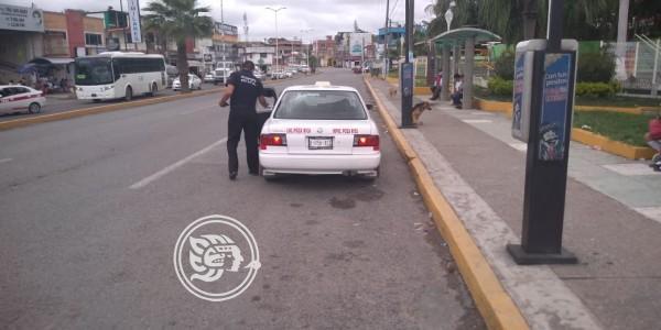 Vigilan que transportistas no suban precios durante Cervantino en Poza Rica