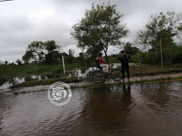 Encharcamientos no afectaron a los invasores en Nanchital