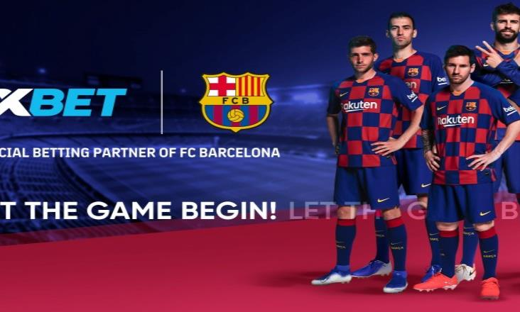 El FC Barcelona incluye 1XBet como su nuevo socio global