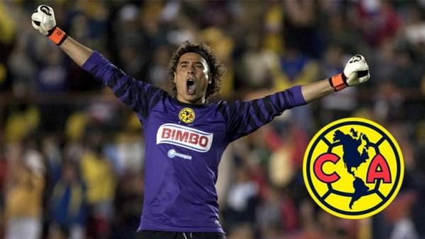 Memo Ochoa regresa a defender la portería del América