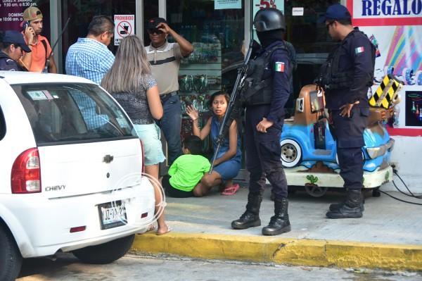 Descuido genera movilización en el centro de Coatzacoalcos