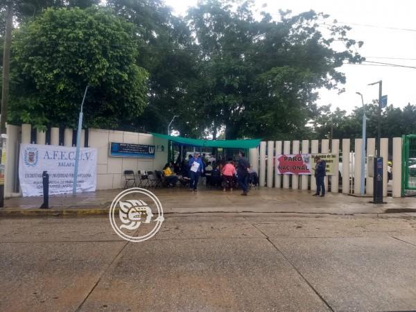 Se unen al paro, 480 académicos del sur de Veracruz