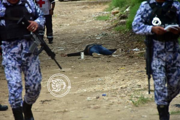 Solitario sicario asesina a mujer al poniente de Coatzacoalcos