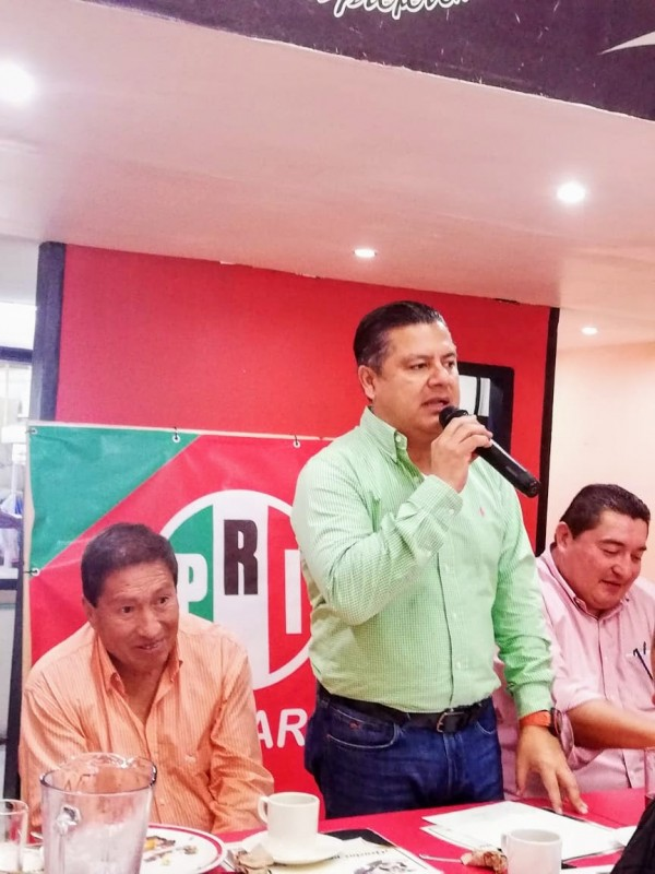 PRI no olvida sus errores: Marlon Ramírez
