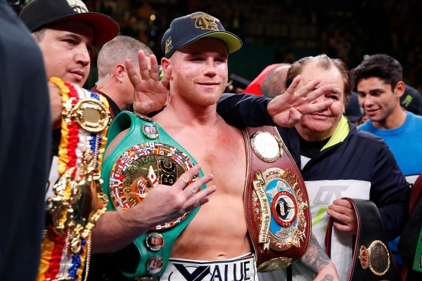 Saúl Canelo Álvarez consigue un récord histórico en el boxeo