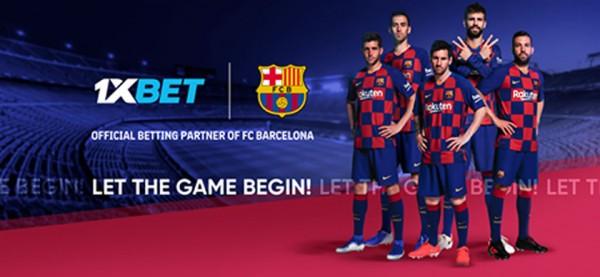 Barcelona incluye a 1xbet como su nuevo socio global