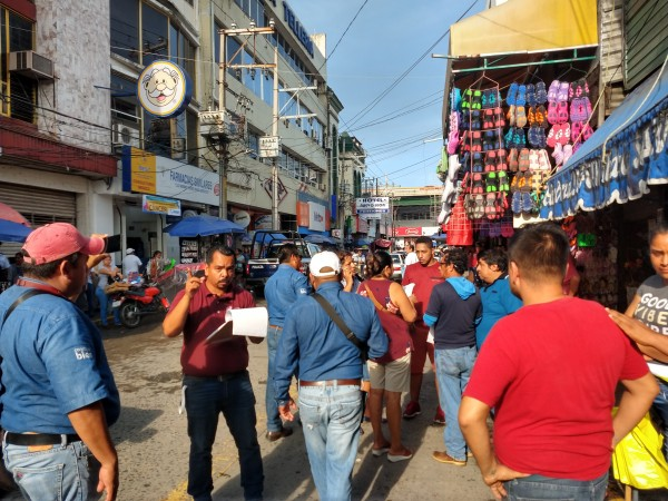 Cambios viales en Poza Rica afectan a locatarios