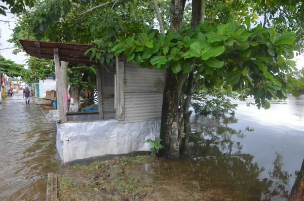 Tras 4 días de lluvia, familias choapenses sufren pérdidas