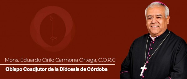 Designan a Eduardo Cirilo Carmona obispo coadjutor de Córdoba
