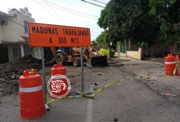Se han corregido detalles en obras a lo largo de Poza Rica