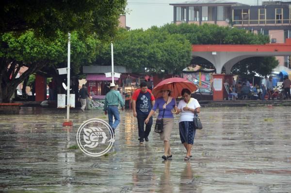 Pronostican otro fin de semana lluvioso en el sur de Veracruz
