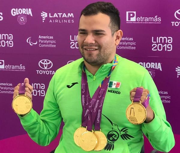 Veracruzano Diego López Díaz, Premio Nacional del Deporte 2019