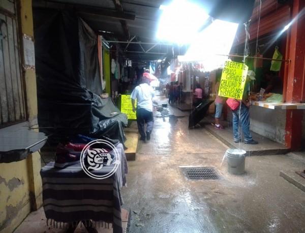 En caso de inundación, vendedores del Mercado solidaridad se instalaran en la calle Roma