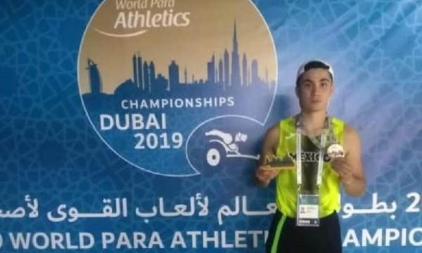 Rodolfo Chessani gana plata en Dubái y obtiene boleto a Tokio