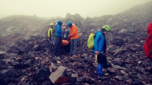 Rescata PC a alpinista que descendía del Pico de Orizaba