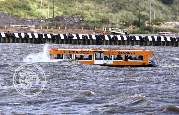 Alerta por Frente Frío 12; suspenden servicio marítimo en Coatzacoalcos