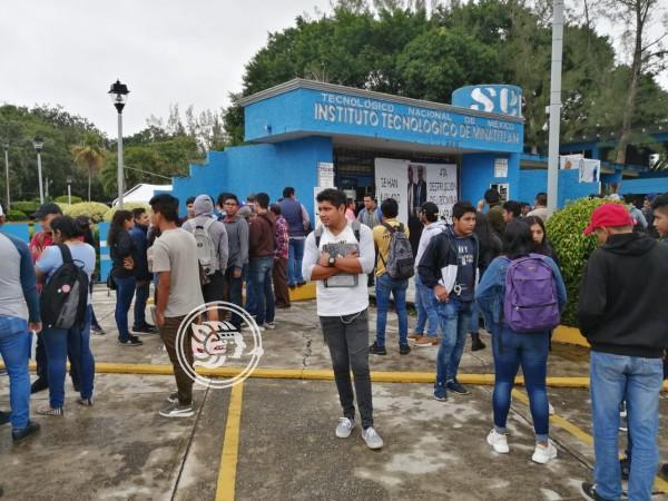 Inician negociaciones en Tec de Minatitlán tras 38 días en paro
