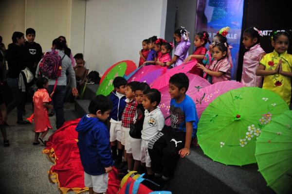 Celebran el 'Primer Festival Infantil de Encuentro de Culturas'
